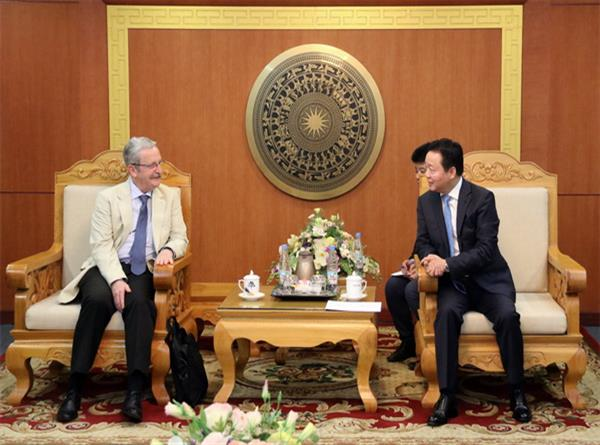 Bộ trưởng Trần Hồng Hà mong muốn Quỹ GEF tiếp tục đồng hành cùng Việt Nam trong sự nghiệp phát triển bền vững, BVMT