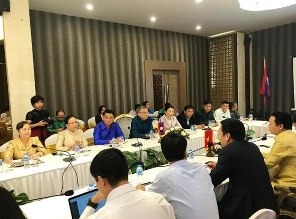 Thông cáo báo chí về kết quả làm việc của Bộ trưởng Bộ Tài nguyên và Môi trường, Chủ tịch Ủy ban sông Mê Công Việt Nam và Lào