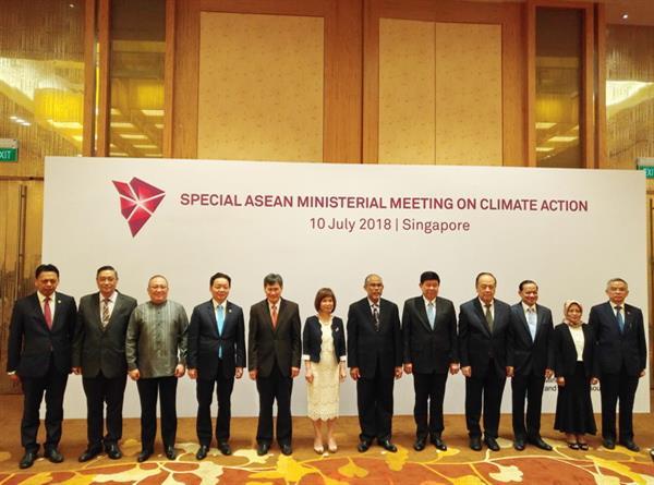 Việt Nam cam kết hợp tác chặt chẽ với các nước ASEAN và cộng đồng quốc tế trong ứng phó với biến đổi khí hậu vì mục tiêu phát triển bền vững