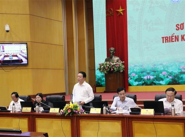 Bộ Tài nguyên và Môi trường triển khai nhiệm vụ 6 tháng cuối năm 2018