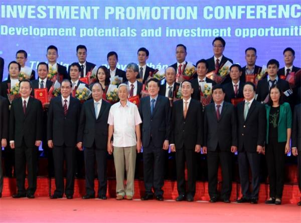 Hội nghị xúc tiến đầu tư tỉnh Thái Nguyên năm 2018