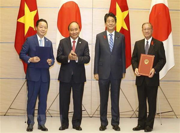 Bộ trưởng Trần Hồng Hà tham gia đoàn công tác của Thủ tướng Chính phủ thăm Nhật Bản, ký kết Bản ghi nhớ hợp tác về chính sách biển và đại dương với Bộ trưởng Chính sách đại dương của Nhật Bản