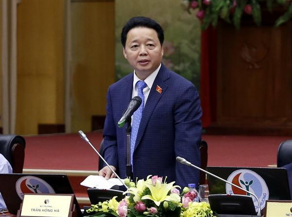 Bài phát biểu khai mạc của Bộ trưởng Trần Hồng Hà tại buổi giao lưu trực tuyến ngày 7/11/2016