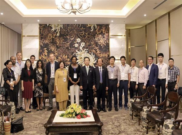 Bộ trưởng Trần Hồng Hà: IUCN là đối tác quan trọng của Việt Nam trong công tác BVMT và ứng phó BĐKH