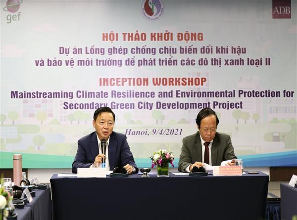 Phát triển nhiều đô thị xanh loại II tại những vùng địa lý đặc trưng ở Việt Nam