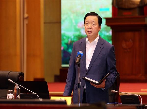 Ý kiến kết luận của Bộ trưởng Trần Hồng Hà tại Hội nghị giao ban công tác 9 tháng đầu năm và triển khai nhiệm vụ trọng tâm công tác các tháng cuối năm 2020